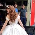 Kiša i nevreme uprljali su joj VENČANICU, pa je pred svadbu učinila nešto prejako (VIDEO)