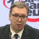 """""""To se zbivalo samo u Hitlerovoj Nemačkoj"""": Vučić o protestu antivaksera u Beogradu"""