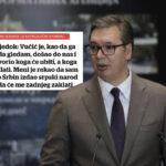 Najveća USTAŠKA GLUPOST: Lažni svedok napao Vučića da je tukao Hrvate kada nije ni bio u Hrvatskoj!