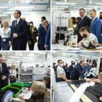 """Vučić u Aleksincu na otvarnju novog pogona fabrike """"Magna Seating"""": Veliko HVALA vama, poštovani radnici"""