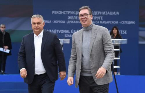 Vučića i Orbana dočekalo više od 5.000 ljudi: Snažna Srbija znači i snažnu Mađarsku (FOTO+VIDEO)