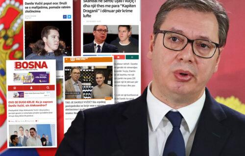 Ujedinjeni u mržnji protiv Vučića: Đilas aktivirao sve ustaške medije u regionu da unište život Danilu!