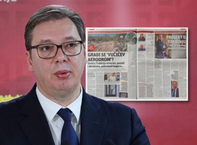 Hrvati PUCAJU od muke: Napadaju predsednika Vučića i Srbiju zbog gradnje aerodroma u Trebinju! (FOTO)