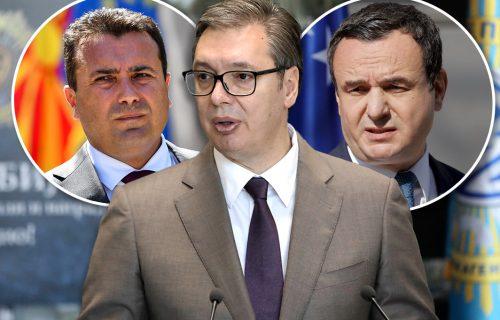 Kurtija i Zaeva koštali NASILJE i ponižavanje, Vučić potvrdio ISPRAVNOST politike koju vodi (FOTO)