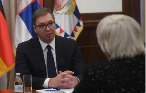 Vučić se sastao sa Rot: Predsednik razgovarao sa potpredsednicom Bundestaga (FOTO)