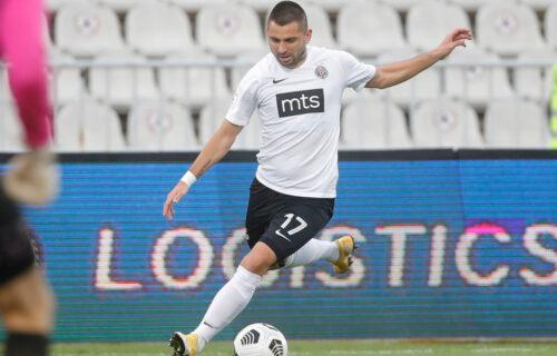 Prvo je sanjao dres Partizana, a osam godina kasnije dosanjao prvenac u crno-beloj opremi: Prelep osećaj!
